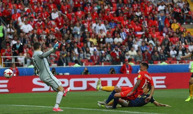 Чили - Австралия 1:1. Getty Images