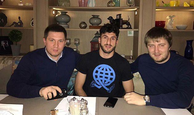 Кадимян подписал контракт с Ворсклой