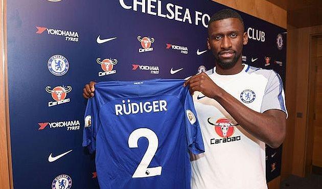 Челси объявил о трансфере Рюдигера