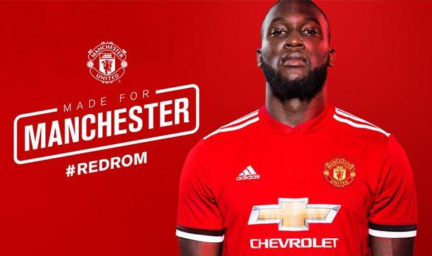 Манчестер Юнайтед подписал контракта с Лукаку