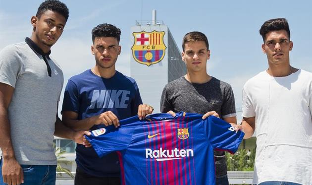 Барселона подписала первого в истории гондурасца
