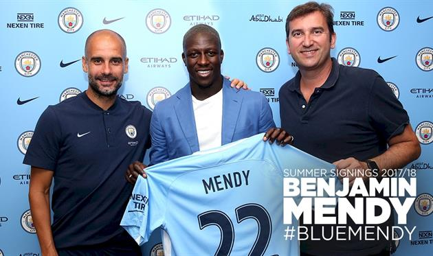 Менди — игрок Манчестер Сити
