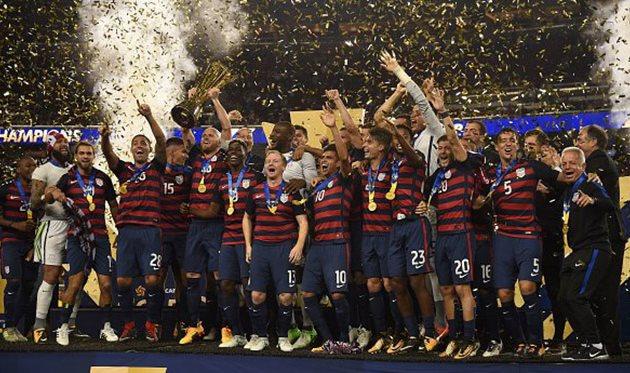 США — победители Золотого Кубка КОНКАКАФ