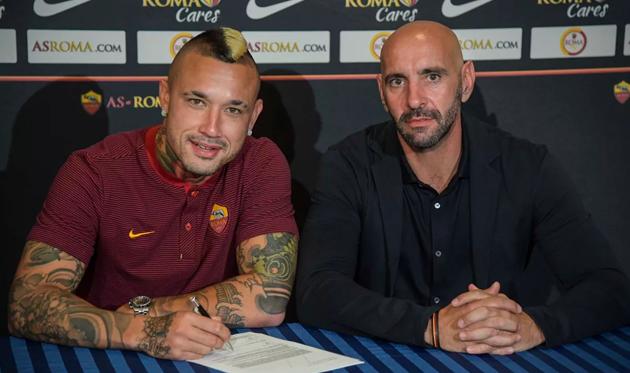 Рома продлила контракт с Наингголаном