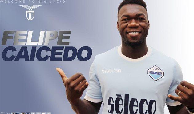 Кайседо — игрок Лацио