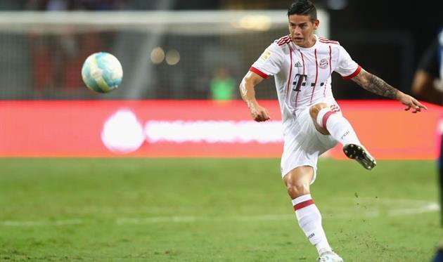 Хамес Родригес травмировался вматче с«Ливерпулем» иможет пропустить месяц