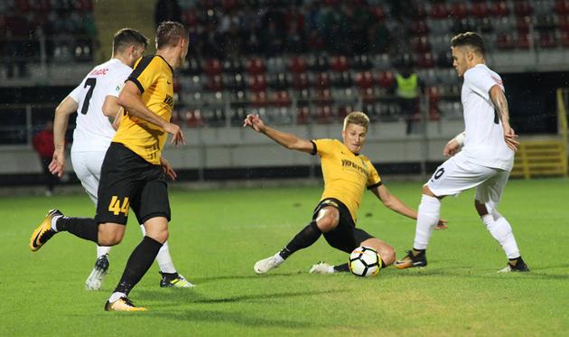 Александрия обыграла Астру и вышла в следующий раунд Лиги Европы