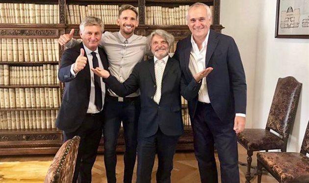 Сампдория объявила о подписании Рамиреса