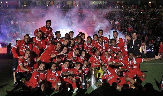 Бенфика выиграла Суперкубок Португалии