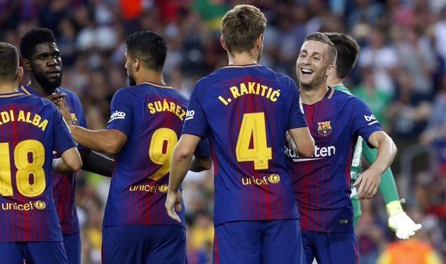 «Барселона» разгромила «Шапекоэнсе» вматче заКубок Жоана Гампера