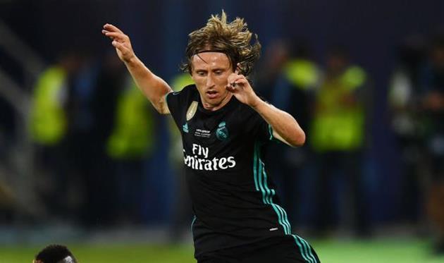 Лука Модрич несыграет против «Барселоны»