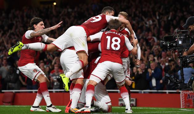 Арсенал — Лестер 4:3 Видео голов и обзор матча