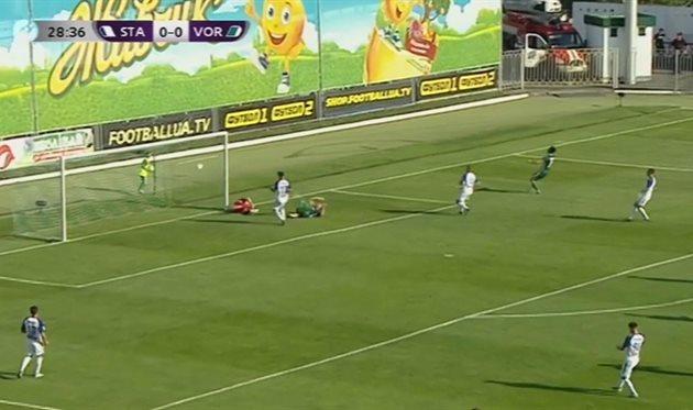 Сталь — Ворскла 0:1 Видео гола и обзор матча