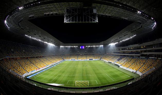 Заря будет проводить матчи Лиги Европы во Львове