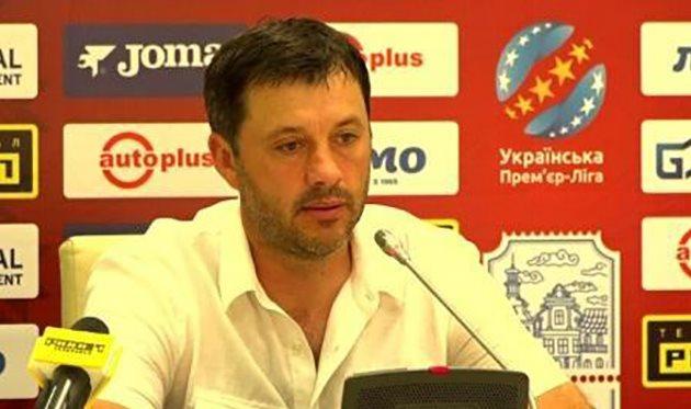 Юрий Вирт, фото НК Верес