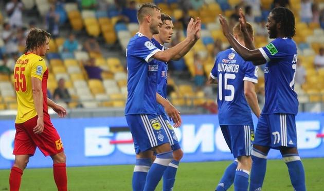 Три представителя Динамо в сборной тура: Ярмоленко, Мбокани, Гармаш, фото ФК Динамо