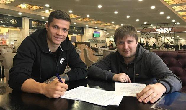 Громов и Андриевский — игроки Зари