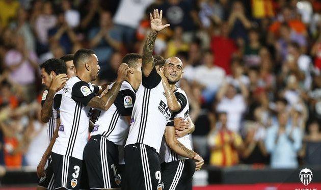 Валенсия стартовала с победы над Лас Пальмасом