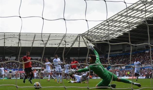 Суонси — Манчестер Юнайтед, Getty Images