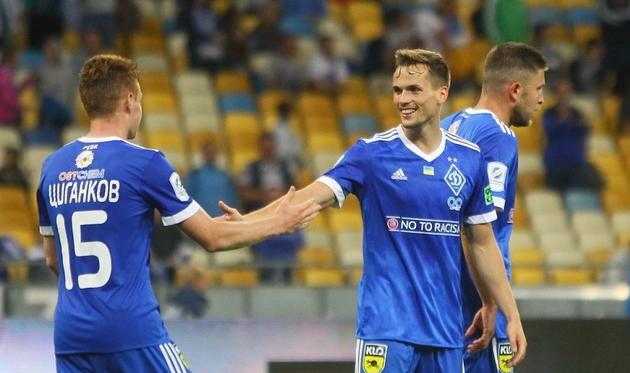 «Динамо» разбило каменскую «Сталь» ивернуло себе первое место вУПЛ