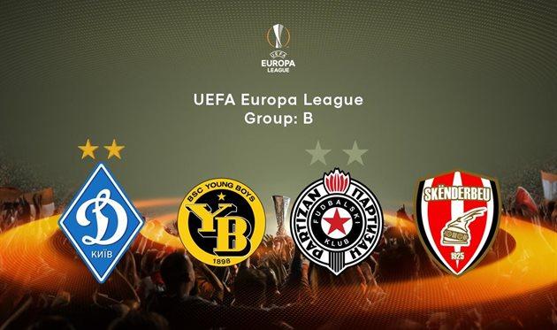 Календарь игр Динамо в Лиге Европы