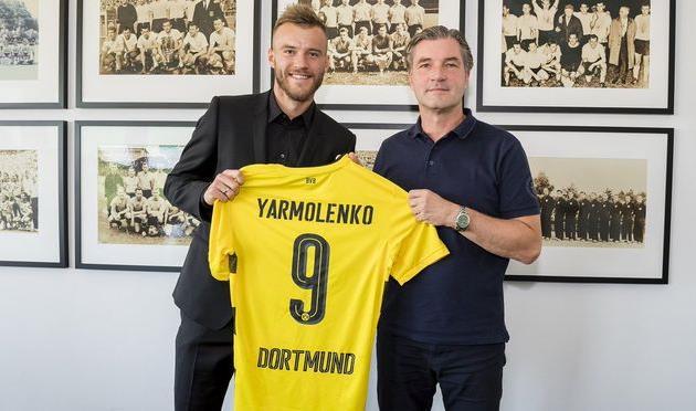 Андрей Ярмоленко (слева), фк боруссия д