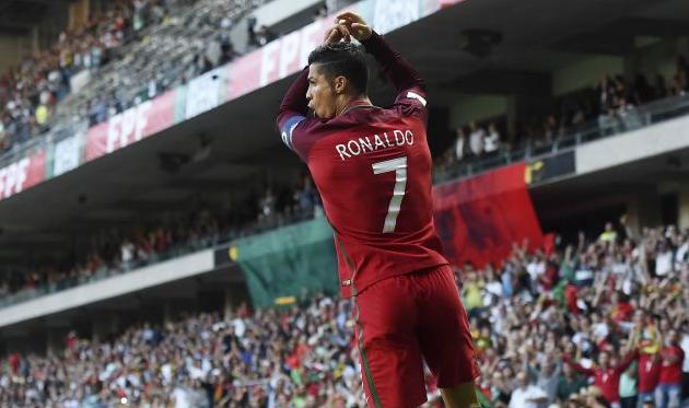 Криштиану Роналду сумел побить рекорд Пеле