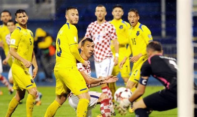 Хорватия одержала минимальную победу над Косово