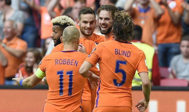 Нидерланды одержали победу над Болгарией