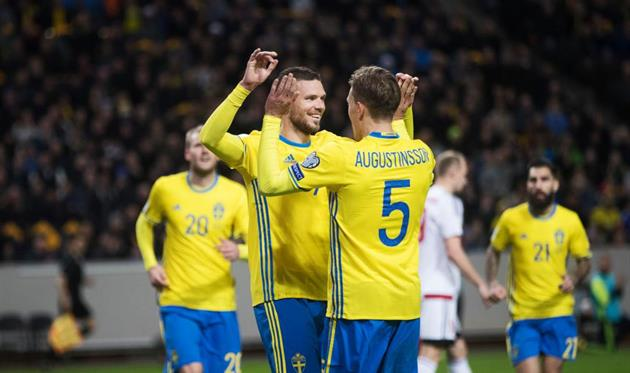 Швеция разгромила Беларусь, Эстония обыграла Кипр