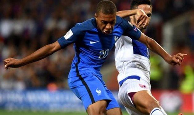 Франция не смогла переиграть Люксембург