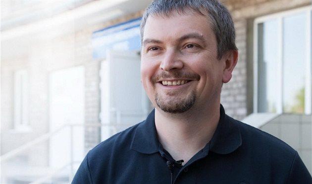 Вице-президент Мариуполя Андрей Санин