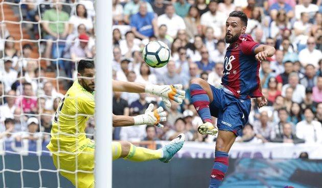 Реал снова потерял очки на Бернабеу