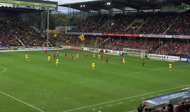 Бундеслига: Боруссия не дожала Фрайбург, Майнц обыграл Байер, хет-трик Финнбогассона