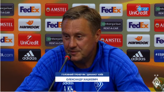 Александр Хацкевич: Доказывать свою силу надо на футбольном поле