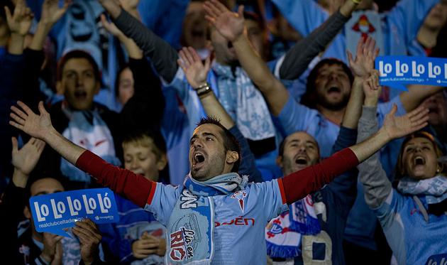 «Сельта» оштрафована занизкую посещаемость домашних матчей