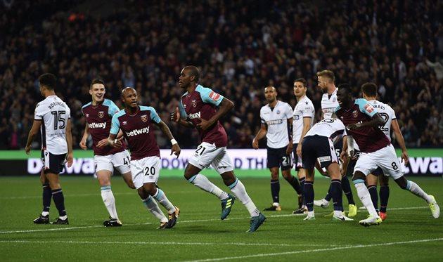 Тоттенхэм и Вест Хэм вышли в 1/8 финала кубка