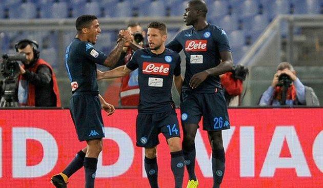 «Наполи» победил «Лацио» в основном матче тура