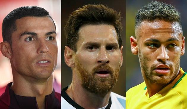 Тройка номинантов на игрока года по версии ФИФА