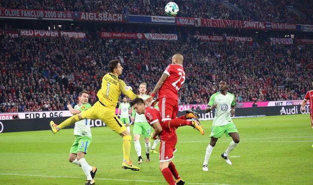Вольфсбург шокировал Баварию