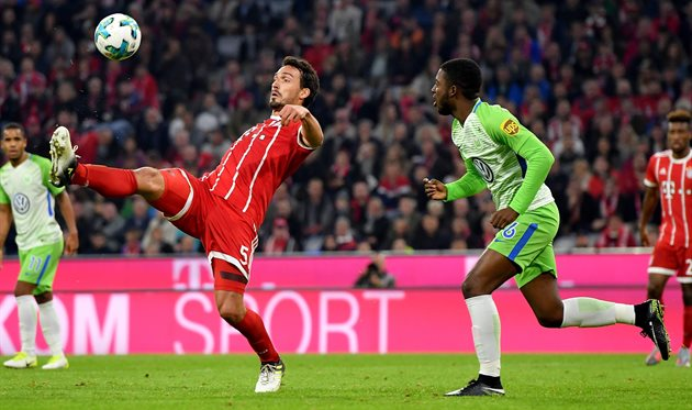 «Бавария» вдомашнем матче несмогла обыграть «Вольфсбург»