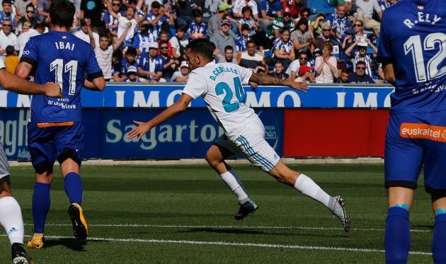 «Реал» вгостях победил «Алавес», Себальос оформил дубль