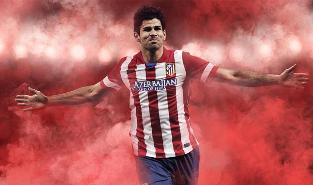 Диего Коста подписал контракт с Атлетико