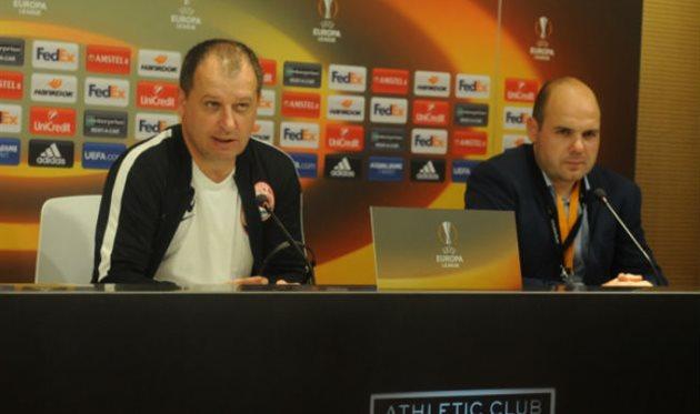 Юрий Вернидуб после матча с Атлетиком