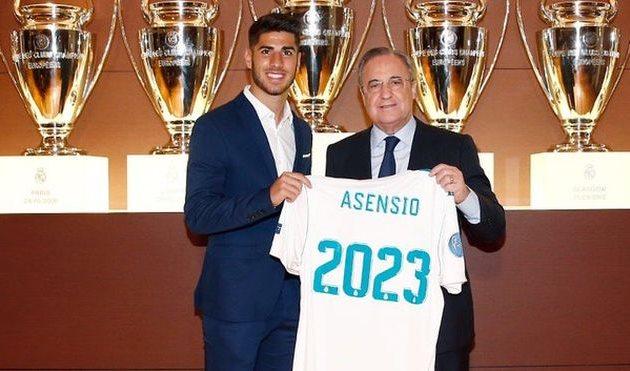 Асенсио продлил контракт с Реалом