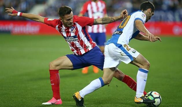 Атлетико сыграл вничью с Леганесом