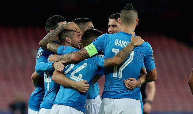 «Наполи» одержал седьмую подряд победу вСерии, А— 3:0 над «Кальяри»