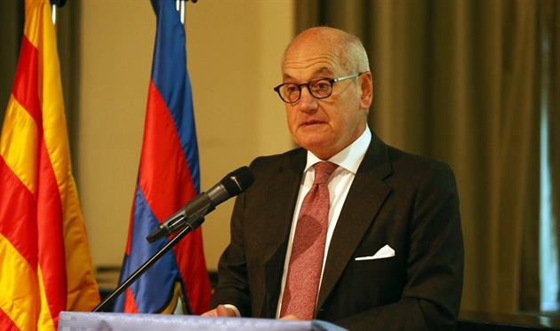 Вице-президент Барселоны подал в отставку