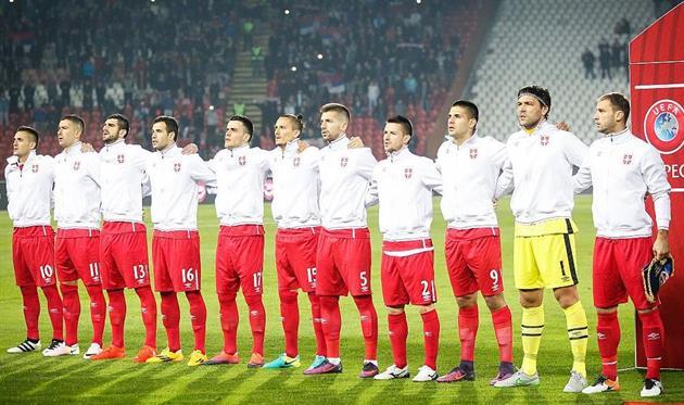 Сборная Сербии в шаге от финального турнира ЧМ-2018, Getty Images