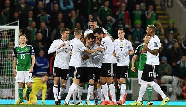 Германия переиграла Северную Ирландию